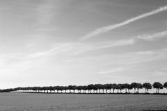Danish landscape Stock Photo