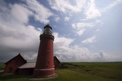 Danish Lighthouse Stock Photography