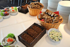 DANISH LUCN BUFFET Stock Photo