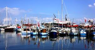 Danish Marina Stock Images
