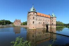 Danish medieval castle Royalty Free Stock Images