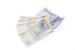 Danish money Royalty Free Stock Image