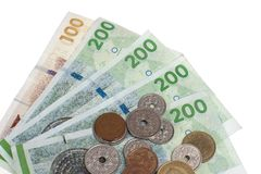 Danish money Royalty Free Stock Images