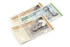Danish money royalty free stock photos