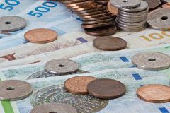 Danish Money Stock Photo