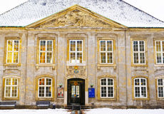 The Danish Museum of Art and Design in winter Copenhagen Royalty Free Stock Image