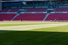 Danish national soccer stadium Parken royalty free stock photos