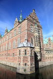 Danish palace and canal Royalty Free Stock Images