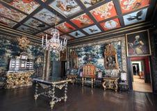 Danish palace interior Stock Photos