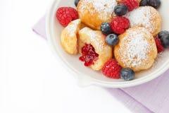 Danish pancakes Stock Photo