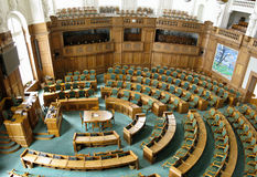 Danish parliament Royalty Free Stock Image