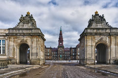 Danish Parliament Christiansborg, Royalty Free Stock Photos