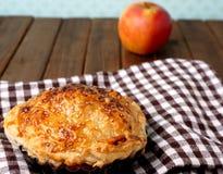 Danish pastries, mini apple pie Stock Photos