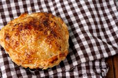 Danish pastries, mini apple pie Royalty Free Stock Photography