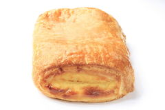 Danish pastry. On a white background Royalty Free Stock Images