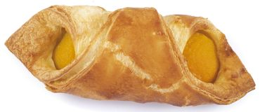 Danish pastry - butterfly Royalty Free Stock Photos