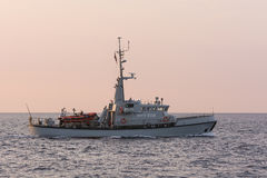 Danish patrol vessel MHV 908 Brigaden Stock Images