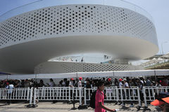 The Danish pavilion: 2010 Shanghai World Expo national pavilions Royalty Free Stock Images