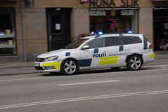 DANISH POLICE IN ACTION Stock Photo