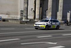 DANISH POLICE AUTO Royalty Free Stock Photo