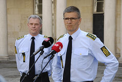 danish police officers Stock Image