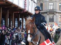 Danish Policewoman Stock Images