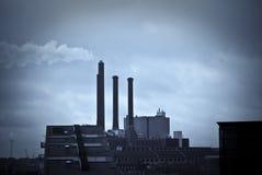 Danish power plant royalty free stock photos