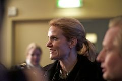 Danish Prime Minister Helle Thorning-Schmidt Stock Photography