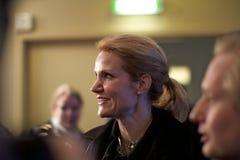 Danish Prime Minister Helle Thorning-Schmidt Stock Photography
