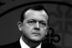 DANISH PRIME MINISTER LARS LOKKE RASMUSSEN Royalty Free Stock Image