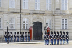 Danish Queen guards Royalty Free Stock Photo