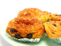 Danish raisin pastry Royalty Free Stock Photo
