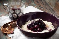 Free Danish Rice Pudding. Stock Image - 84475681