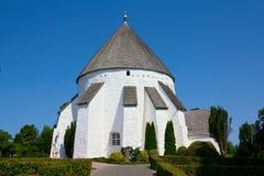 Danish round church Royalty Free Stock Image