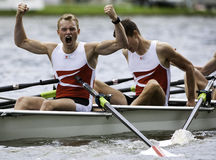 Danish rowing victory Royalty Free Stock Image