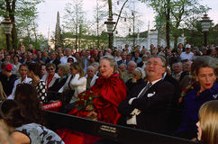 DANISH ROYAL FAMILY VISITS TIVOLI GARDEN Stock Image