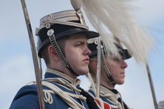 Danish royal guard Royalty Free Stock Photo
