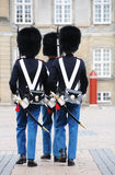 Danish Royal Guard. Change of Royal Guard Parade stock photos