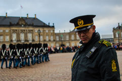 The Danish royal guard Stock Photo