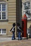 Danish Royal Guards Stock Photos
