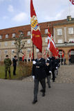 DANISH ROYAL QUEENS GUARDS Royalty Free Stock Photos
