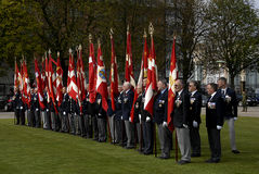 DANISH ROYAL QUEENS GUARDS Royalty Free Stock Images