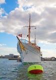 Danish Royal yacht Royalty Free Stock Photography