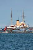 The Danish royal yacht Dannebrog Royalty Free Stock Photos