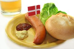 Danish sausage Stock Photography