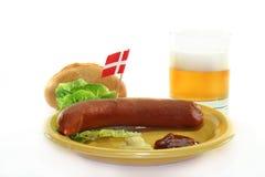 Danish sausage Royalty Free Stock Photos