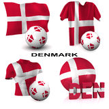 Danish Soccer Stock Photography