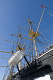 Danish steam frigate Jylland Royalty Free Stock Photography