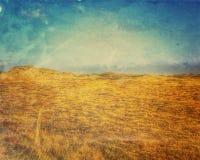 Danish Sunny Day. A danish journey through the dunes Royalty Free Illustration