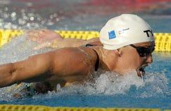 Danish swimmer Jeanette Ottesen Stock Photography